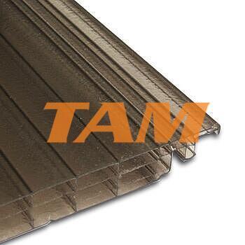 Click 16, hrúbka 16mm, rozmer 6000x250 mm, farba bronz