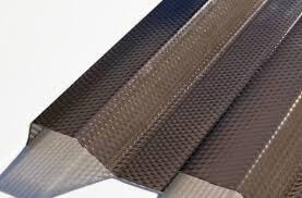 Trapézový polykarbonát MIKROPRIZMA 1265x3000mm bronz