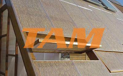 Komôrkový polykarbonát výplň bambus - 2