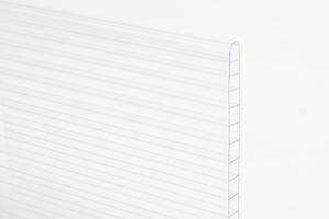 Komôrkový polykarbonát hr.10mm 2100x6000mm číra